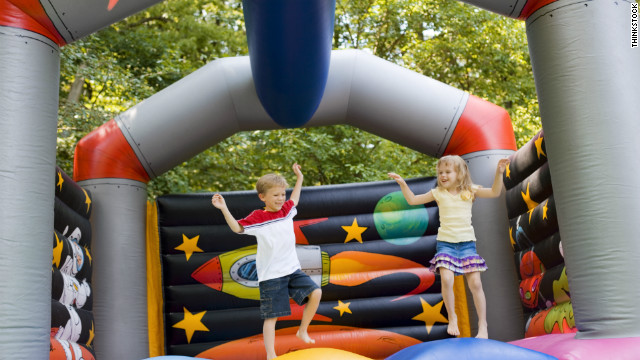 Summer Safety TIps: More Kids Hurt on Bouncy Castles Than Rides