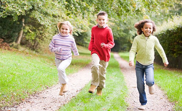 Getting Your Kids to Play Outdoors Increases Physical Activity, Decreases Sedentary Behavior, And Makes Them Healthier!